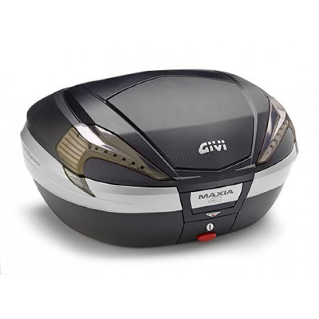 Kovček GIVI MAXIA 4 V56NNT Tech črn pokrov