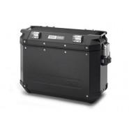 Stranski kovček GIVI TREKKER OUTBACK aluminijast črn 48L desni