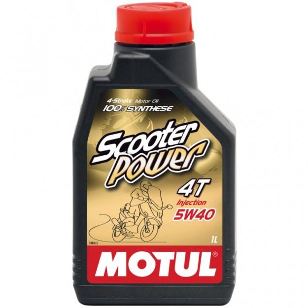 MOTUL Scooter Power 4T 5W40 olje za skuter