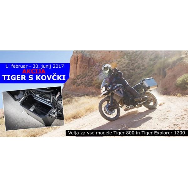Akcija »Tiger s kovčki« – brezplačen komplet aluminijastih kovčkov do konca junija
